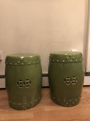 Ceramic stools, plant stands, or side tables for Sale in Brooklyn, NY