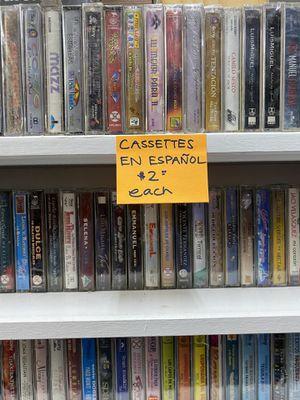 Cassettes Nuevos En Español $2 CU for Sale in Hayward, CA