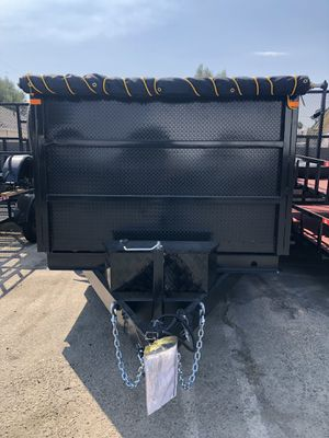 8x12x4 DUMP TRAILER for Sale in Norco, CA
