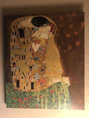 The Kiss Artwork by Gustav Klimt 20x24x.75 for Sale in HUNTINGTN BCH, CA
