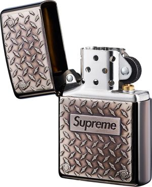 Supreme Diamond Plate Zippo Metal Lighter for Sale in Carlsbad, CA