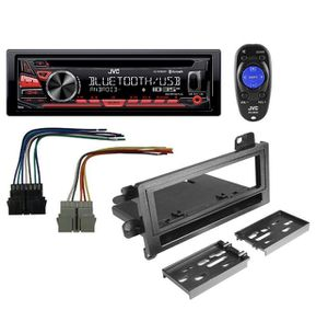 New JVC Car Stereo with Bluetooth and remote + mounting kit for Sale in New York, NY