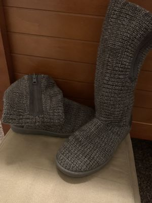 Grey Boots Woman Size 6 for Sale in Union, KY