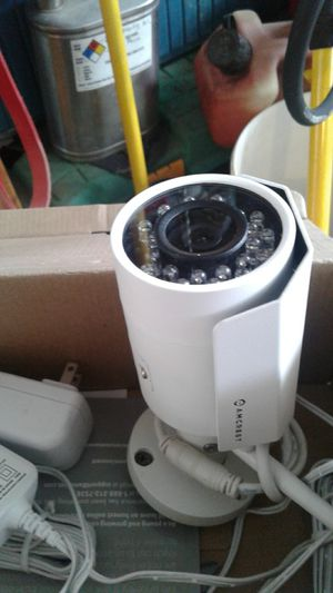 AMCREST security cameras, weather proof, night vision, streams to phone for Sale in San Diego, CA