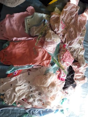Newborn clothes +45 pieces for Sale in Los Angeles, CA