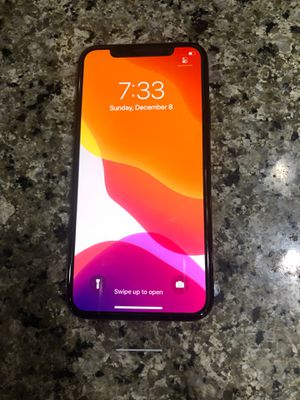 IPhone X 64 unlocked with Apple care plus protection for Sale in Lynnwood, WA