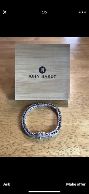 AUTHENTIC JOHN HARDY STERLING SILVER BRACELET for Sale in San Diego, CA