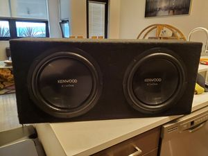 Kenwood Excelon 2x12 Subwoofer for Sale in San Diego, CA