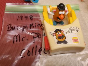 1998 Burger King, Mr. Potato Head Fry Flyer Action Toy for Sale in Houston, TX