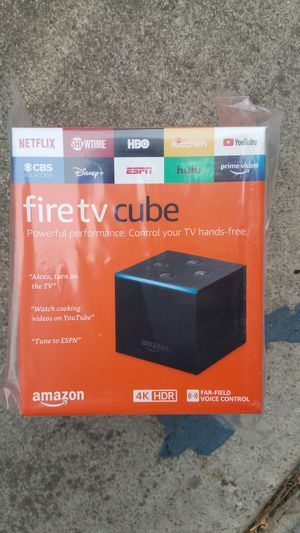 Amazon firetv cube / firestick ,,check prices inside for Sale in Milpitas, CA