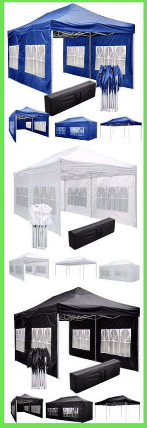 ☀️☀️☀️Heavy Duty Pop Up Canopy Tent with Side Walls☀️☀️☀️ for Sale in Pomona, CA