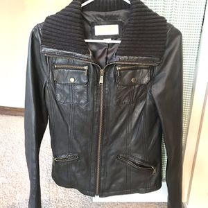 Michael Kors brown leather jacket for Sale in Snohomish, WA