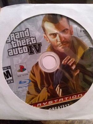 GRAND THEFT AUTO IV (PLAYSTATION3) for Sale in San Diego, CA