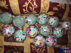 lol surprise glitter globes LILS for Sale in Montebello, CA