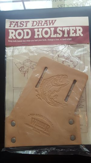 Webber Quick Draw Rod Holster for Sale in West Chicago, IL