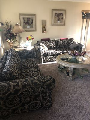 "Beautiful 2 sofa's custom made 77"" each for Sale in Arvada, CO"