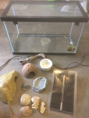 Reptile cage & accessories for Sale in Edmonds, WA