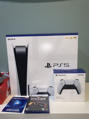 Ps5 Spider-Man bundle In hand for Sale in Ashburn, VA