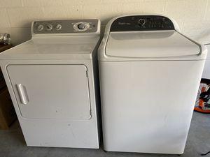 Best deal ever: Whirlpool washing machine and GE dryer machine for Sale in Alafaya, FL