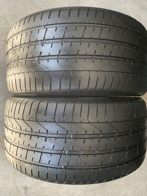 Pair of used tires Pirelli 275/30/20 for Sale in Holly Springs, NC