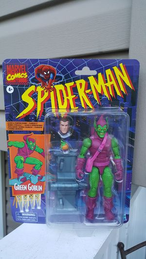 Marvel Legends Green Goblin (animated series) collectible action figure for Sale in Hanover Park, IL