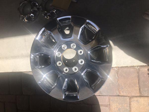2018 OEM Chrome F350 Wheels