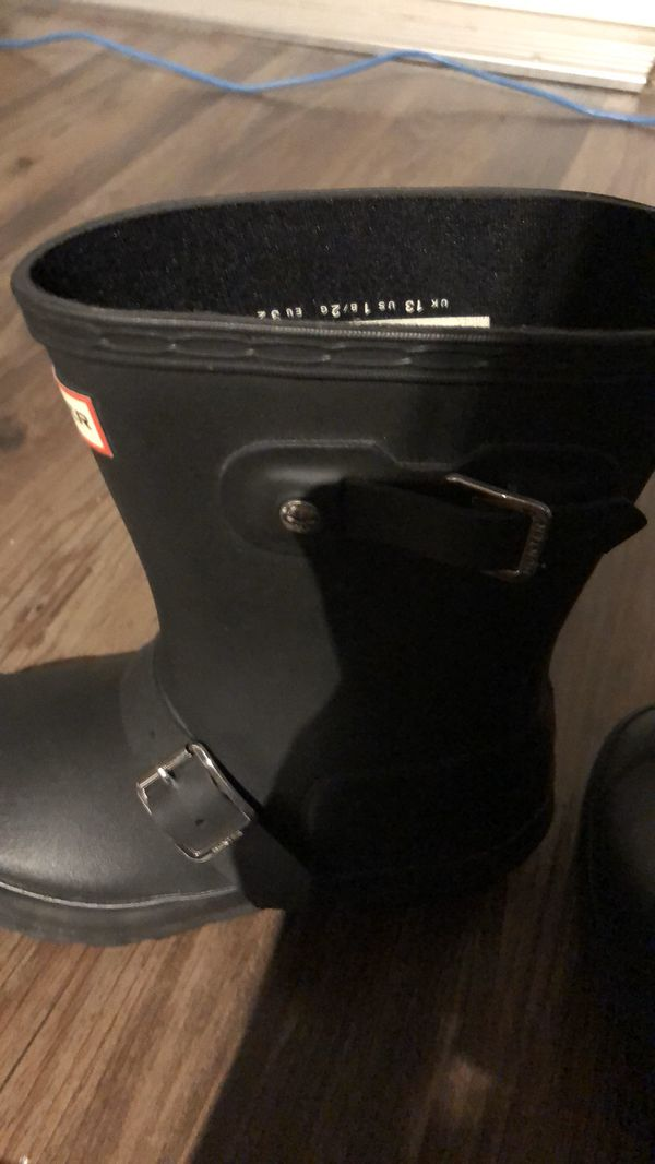 Hunter Kids rain boots