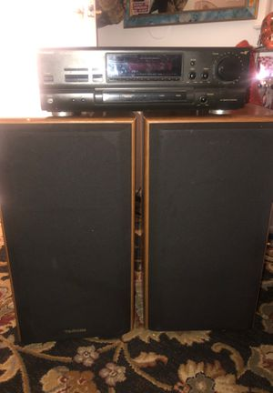 Technics receiver and two way speaker system for Sale in Lincoln Acres, CA