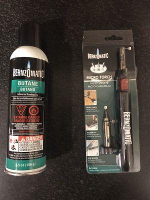 Bernzomatic Micro Torch for Sale in Boston, MA