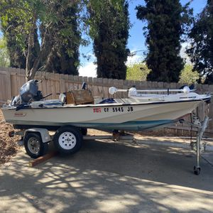 15 Foot Boston Whaler Sport Fishing Boat for Sale in Escondido, CA