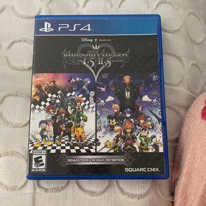 Kingdom Of Hearts HD I.5 + II.5 Remix for Sale in Hialeah, FL