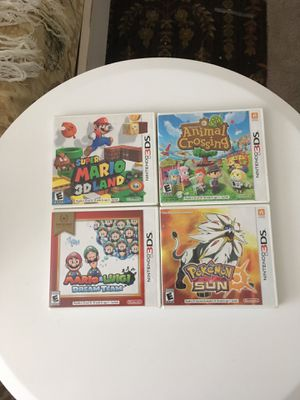 4 3ds games for Sale in Annandale, VA