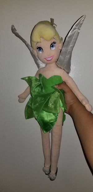Tinkerbell plush toy for Sale in San Diego, CA