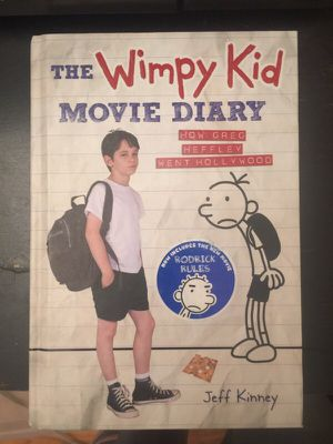 Wimpy kid movie diary for Sale in North Potomac, MD