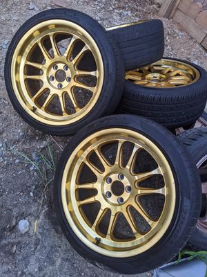 "18"" inch wheels and tires for Sale in Sterling, VA"
