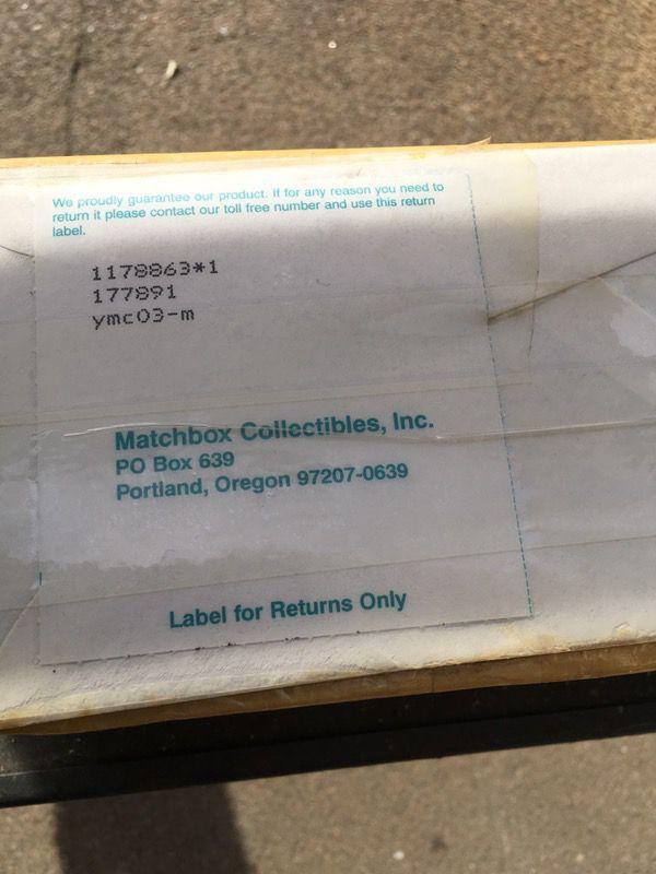 MATCHBOX COLLECTIBLES MUSCLE CAR SERIES 1 - 1967 PONTIAC GTO