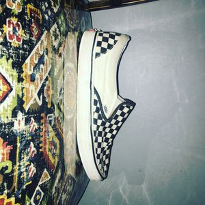 Black and white checkers vans size 13 for Sale in Gilbert, AZ