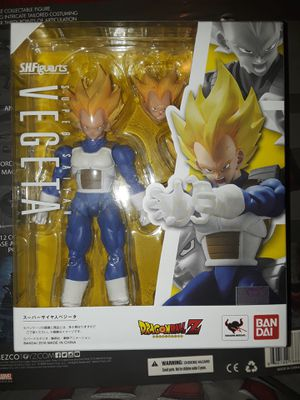 Sh figuarts super saiyan vegeta dragonball Z dragon ball dbz for Sale in Glendale, CA
