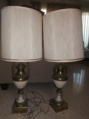Brass antique lamps for Sale in Miami, FL