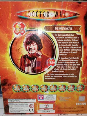 """Doctor Who """" The Fourth Doctor and Electronic Tardis."""" for Sale in Brandon, FL"""