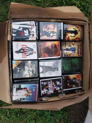 LOT OF (180-216)Movies 25x25x12 inch box 📦 full with 📀 DVD Theres approximately 180 to 210 DVD's for Sale in Bradenton, FL