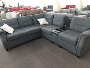 Sectional sofa set w/ USB port for Sale in Upland, CA