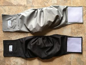 Dog diaper belly bands - for male dogs for Sale in Prosser, WA
