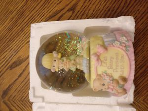 Precious Moments music box/water globe - 'Life's Beary Precious with You' for Sale in Salt Lake City, UT