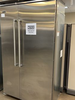 """Viking Builtin 48"""" Refrigerator Side By Side for Sale in Riverside,  CA"""