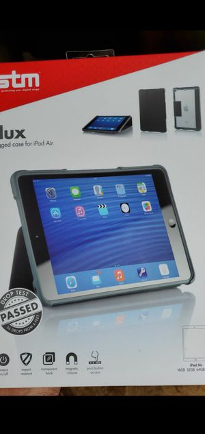 Stm dux ragged case for iPad air for Sale in Chester, VA