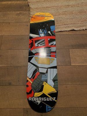 Primitive transformers skateboard deck for Sale in Waynesville, MO