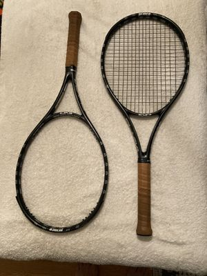 Prince EXO 3 Black 100 Tennis Racquets Rackets Grip 4 1/2 for Sale in Claremont, CA