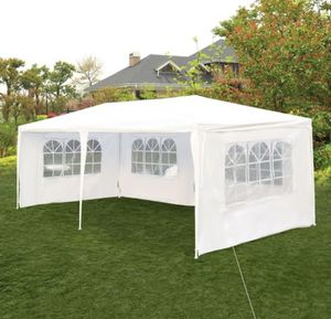 10'x 20' Canopy Outdoor Gazebo Party Tent w/ 4 Side Walls Wedding Canopy Cater Events for Sale in Corona, CA