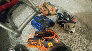 Softball baseball gloves for Sale in Linden, NJ